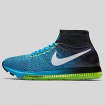 Damen & Herren - Nike Zoom All Out Flyknit Blau Lagune Weiß Schwarz Dunkel lila Staub