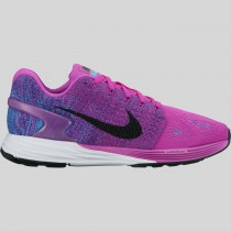 Damen & Herren - Nike Wmns Lunarglide 7 Hyper Violet Schwarz Concord