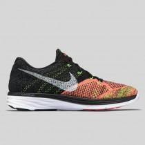 Damen & Herren - Nike Flyknit Lunar3 Schwarz Hot Lava