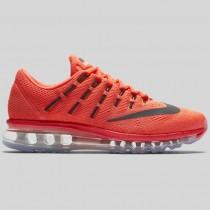 Damen & Herren - Nike Wmns Air Max 2016 Hell Karmesinrot Schwarz