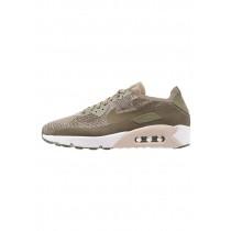 Nike Air Max 90 Ultra 2.0 Flyknit Schuhe Low NIK5est-Grün