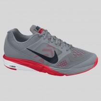 Damen & Herren - Nike Tri Fusion Run MSL Cool Grau Universität Rote