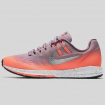 Damen & Herren - Nike Wmns Air Zoom Structure 20 Shield Plum Fog Metallisch Silber Hell Mango
