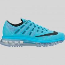 Damen & Herren - Nike Wmns Air Max 2016 Gamma Blau Schwarz Pink Blast