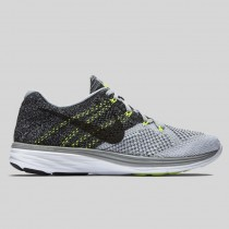 Damen & Herren - Nike Flyknit Lunar3 Wolg Grau Schwarz Volt