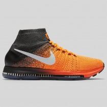 Damen & Herren - Nike Zoom All Out Flyknit Total Orange Weiß Anthracite
