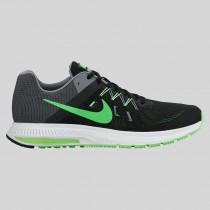 Damen & Herren - Nike Zoom Winflo 2 Schwarz Grün Strike Cool Grau Weiß
