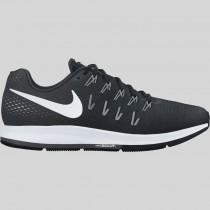 Damen & Herren - Nike Air Zoom Pegasus 33 Schwarz Weiß Anthracite Cool Grau