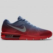 Damen & Herren - Nike Wmns Air Max Sequent Hyper Pink Metallisch Dunkel Grau