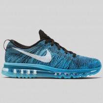 Damen & Herren - Nike Flyknit Max Schwarz Tide Pool Blau