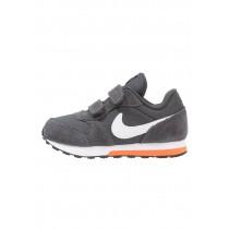 Nike Md Runner 2 Schuhe Low NIKurv0-Schwarz