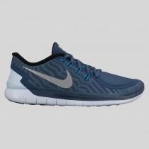 Damen & Herren - Nike Free 5.0 Flash Squadron Blau Spiegeln Silber