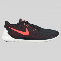 Damen & Herren - Nike Free 5.0 Schwarz Hyper Orange Universität Rote