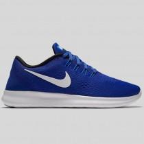 Damen & Herren - Nike Wmns Free RN Concord Weiß Hyper Cobalt