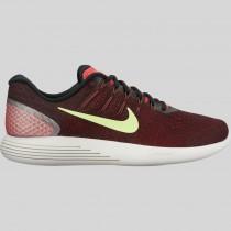 Damen & Herren - Nike Lunarglide 8 Ember Glühen Geist Grün Schwarz