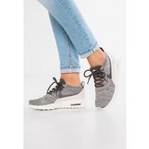 Nike Air Max Thea Ultra Flyknit Schuhe Low NIKsnpv-Grau
