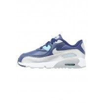 Nike Air Max 90 Schuhe Low NIKv7y2-Blau