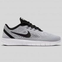 Damen & Herren - Nike Free RN (GS) Weiß Schwarz