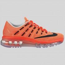 Damen & Herren - Nike Air Max 2016 (GS) Hyper Pink Spiegeln Silber Volt Schwarz