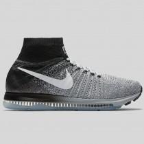 Damen & Herren - Nike Zoom All Out Flyknit Wolf Grau Weiß Schwarz Rein Platinum