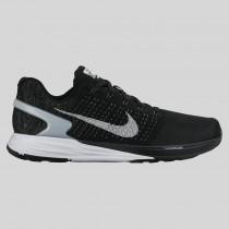 Damen & Herren - Nike Lunarglide 7 Flash Schwarz Spiegeln Silber