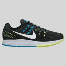 Damen & Herren - Nike Air Zoom Structure 19 Schwarz Rein Platinum Volt Blau Lagune