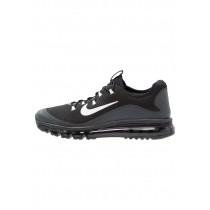 Nike Air Max More Schuhe Low NIKha2g-Schwarz