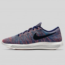 Damen & Herren - Nike Lunarepic Low Flyknit Loyal Blau Schwarz Blau Glühen