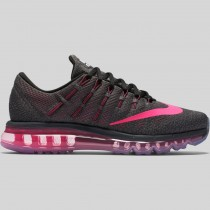 Damen & Herren - Nike Wmns Air Max 2016 Dunkel Grau Pink Blast