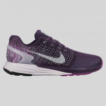 Damen & Herren - Nike Wmns Lunarglide 7 Flash Grand lila Spiegeln Silber