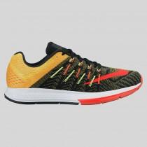 Damen & Herren - Nike Air Zoom Elite 8 Schwarz Total Karmesinrot Option Gelb