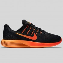 Damen & Herren - Nike Lunarglide 8 Schwarz Multi-color Team Rote