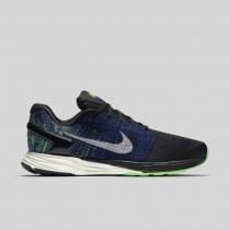 Damen & Herren - Nike Lunarglide 7 Schwarz Sail Racer Blau Voltage Grün