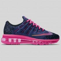 Damen & Herren - Nike Air Max 2016 Print (GS) tief Nacht Pink Blast