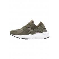 Nike Huarache Run Schuhe Low NIK0i13-Khaki