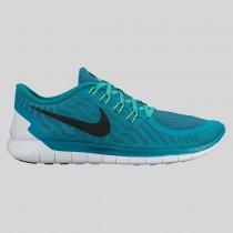 Damen & Herren - Nike Free 5.0 Radiant Emerald Schwarz Weiß