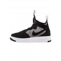 Nike Air Force 1 Ultraforce Mid Prm Schuhe High NIKt0dy-Schwarz