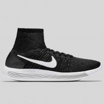 Damen & Herren - Nike Lunarepic Flyknit Schwarz Weiß