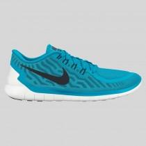 Damen & Herren - Nike Free 5.0 Blau Lagune Schwarz Copa Weiß