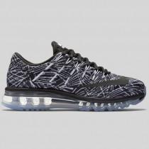 Damen & Herren - Nike Wmns Air Max 2016 Print Weiß Schwarz