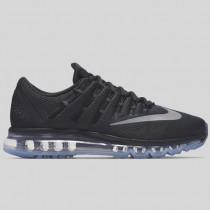 Damen & Herren - Nike Air Max 2016 Schwarz Weiß Dunkel Grau