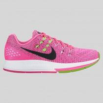 Damen & Herren - Nike Wmns Air Zoom Structure 19 Pink Blast Schwarz Elektrisch Grün