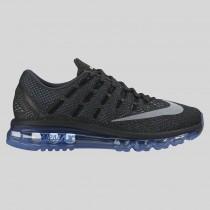 Damen & Herren - Nike Wmns Air Max 2016 Anthracite Spiegeln Silber Chalk Blau