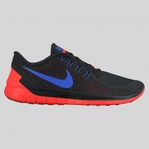 Damen & Herren - Nike Free 5.0 Schwarz Racer Blau Total Karmesinrot