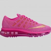 Damen & Herren - Nike Air Max 2016 (GS) Fire Pink Metallisch Rote Bronze
