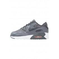 Nike Air Max 90 Se Mesh(Ps) Schuhe Low NIKjbx7-Grau