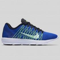 Damen & Herren - Nike Wmns Lunaracer+ 3 Racer Blau Weiß Voltage Grün