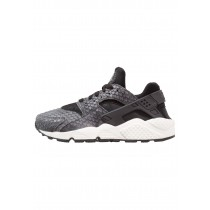 Nike Air Huarache Run Premium Schuhe Low NIKh59n-Schwarz