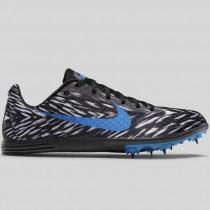 Damen & Herren - Nike Zoom Rival D 8 Schwarz Foto Blau