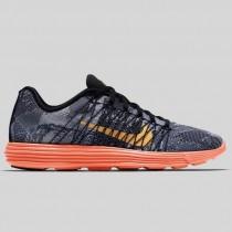 Damen & Herren - Nike Lunaracer+ 3 Schwarz Laser Orange